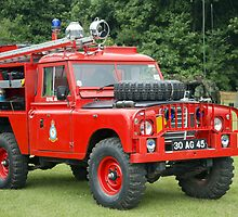Military Fire Engine by GrahamWhite