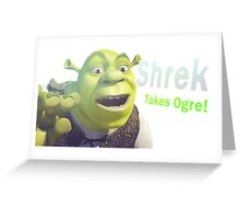 Shrek is Love Greeting Card