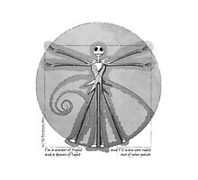 The Burtonian Man Photographic Print