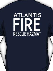 Atlantis Fire, Rescue & Hazmat T-Shirt