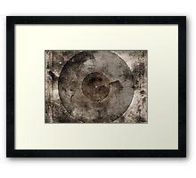 Vintage Vinyl Records Retro Music DJ Art - Old Vinyl Framed Print