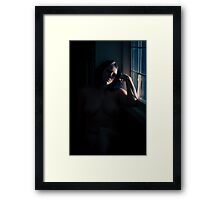 I will wait Framed Print