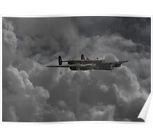 Halifax  -  RAF Heavy Bomber Poster