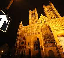 Lincoln Cathedral at Night by Jonathan Cox