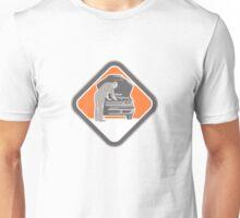 Automotive Mechanic Car Repair Woodcut Unisex T-Shirt