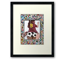 Footie Bum Bum Framed Print