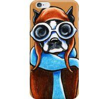 Boston Terrier Aviator iPhone Case/Skin