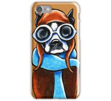 Boston Terrier Aviator iPhone Case/Skin