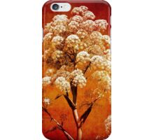 red flower iPhone Case/Skin