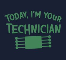 Today I'm your technician Kids Clothes