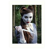 Undead Housewife. Art Print