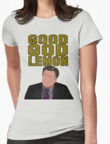 Good God Lemon Womens Fitted T-Shirt