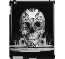Pulled sugar, melting sugar skull  iPad Case/Skin