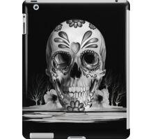 Pulled sugar, melting sugar skull  iPad Case/Skin