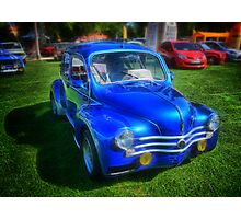 Ancient French Car Renault 4CV Photographic Print