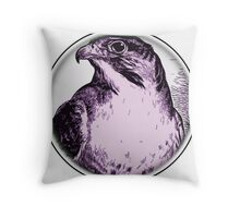 Round Bird 60 Throw Pillow