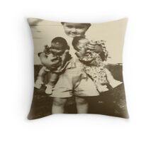 Baby Dolls Throw Pillow