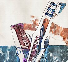 Toothbrushes and paste - 2 by Paul Stevens