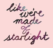 Like We're Made of Starlight Kids Clothes