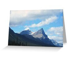 Icefields Parkway in the Fall Greeting Card