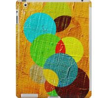 oil paint abstract iPad Case/Skin