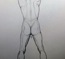 Muscular Back by JPagillo