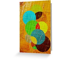 oil paint abstract Greeting Card