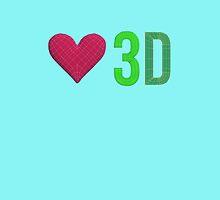 Love 3D by ozlsig