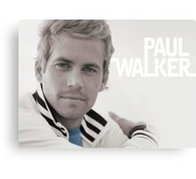 Paul Walker eyes Metal Print