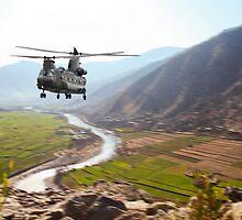 Chinook Supply Drop by J Biggadike