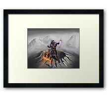 Wizard of awesomeness Framed Print