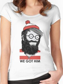 We Got Him Women's Fitted Scoop T-Shirt