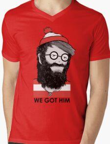 We Got Him Mens V-Neck T-Shirt