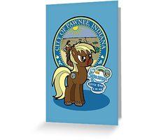 My Lil Sebastian Greeting Card