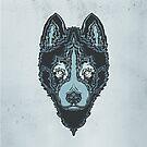 Dog blue by TanyaTish