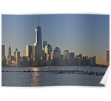 One World Trade Center Reflections Poster