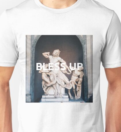 Bless Up -- Laocoon and His Sons Unisex T-Shirt