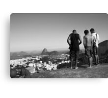 Watching over Rio Canvas Print