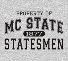 Property of MC State Statemen shirt - 22 Jumpstreet Channing Tatum Jonah Hill  by erikaandmonty