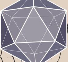 Soft geometry Sticker