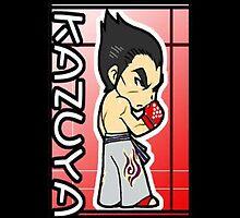 Kazuya Mishima by Runehise