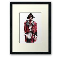 Zombie Pirate Framed Print