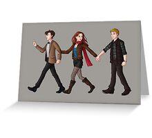 Team TARDIS Greeting Card
