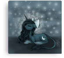 Sleepy Pony Canvas Print