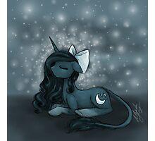 Sleepy Pony Photographic Print