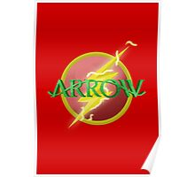 Arrow and Flash cross over Poster