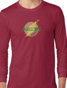 Arrow and Flash cross over Long Sleeve T-Shirt