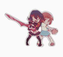ryuko & mako by glofii