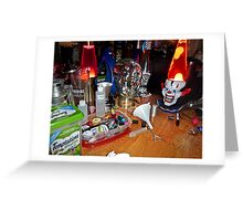Caution: Mad Scientist at Work! Greeting Card