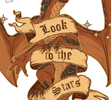 Dragonheart - Look to the Stars Sticker